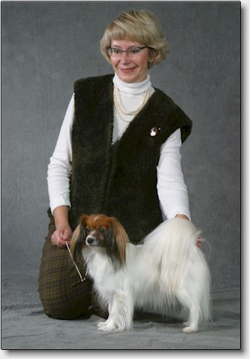Fancy after being awarded Breed Winner 2002